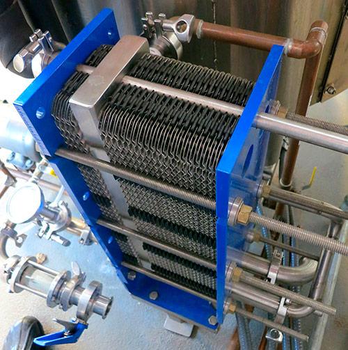 Надо промыть теплообменник Кожухотрубный теплообменник Alfa Laval Pharma-line 2 - 2.4 Набережные Челны