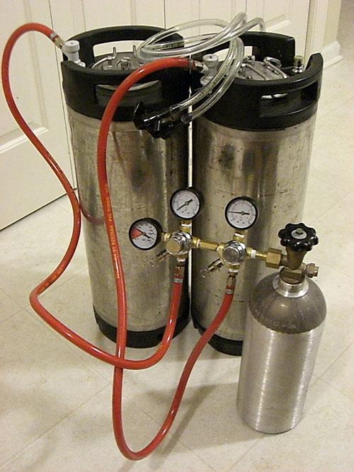 Розлив пива из кеги в домашних условиях 102